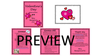 Mrs. Benson's Valentine's Day Games