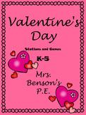 Mrs. Benson's Valentine's Day Games