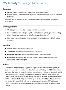 MS Activity 1: College Admissions