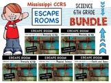 MS CCRS Science ESCAPE ROOMS - BUNDLE PACK