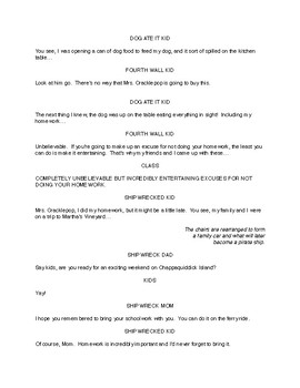 MS Drama Script: Completely Unbelievable But Incredibly Entertaining Excuses...