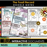 MS-ESS1-4 Doodle and Define Vocabulary Notes