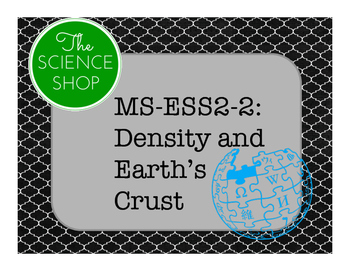 MS-ESS2-2: Density and Earth's Crust