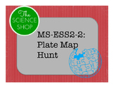 MS-ESS2-2 Tectonic Plate Map Hunt