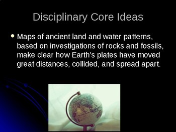 MS-ESS2-3 Earth's Systems-Plate Tectonics PowerPoint
