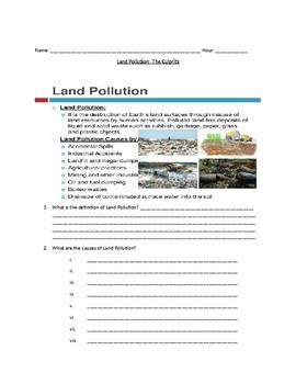 MS-ESS3-3. Land Pollution