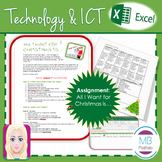 MS EXCEL:  All I want for Christmas is..