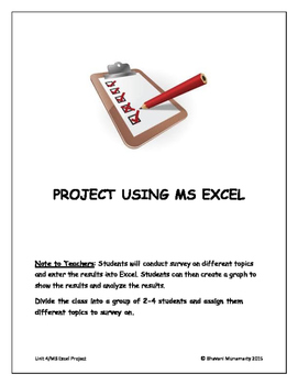 MS Excel Project - Conducting Survey