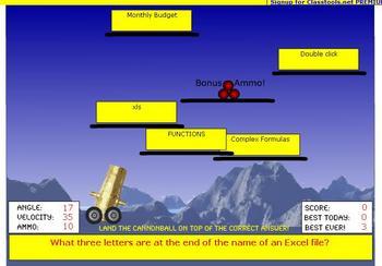 MS Exel 2003 Review Quiz