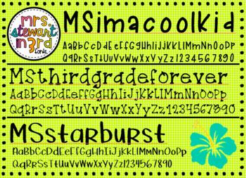 MS Fonts Volumes 1-3