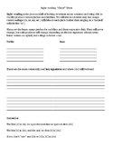MS/HS Choir Sight-reading 'Cheat' Sheet