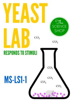MS-LS1-1:  Yeast Lab - Responds to Stimuli