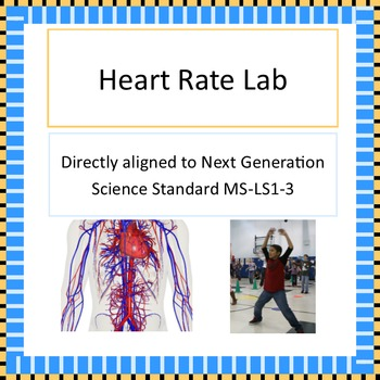 MS-LS1-3 Heart Rate Lab