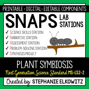 MS-LS2-2 Plant Symbiosis Lab Stations Activity