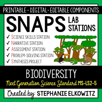 MS-LS2-5 Biodiversity Lab Stations Activity
