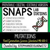 MS-LS3-1 Mutations Lab Stations Activity