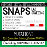 MS-LS3-1 Mutations Lab Stations Activity - Printable & Digital