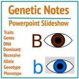 MS-LS3-2 Genetics Notes Part 1 - Intro & Vocabulary