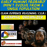 Claim Evidence Reasoning Human Evolution MS-LS4-1 HS-LS4-2 HS-LS4-1 MS-LS4-2
