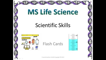 Life Science Scientific Skills Flash Cards