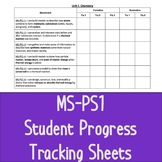 MS-PS1 Student Progress Tracking Sheets
