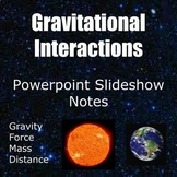 MS-PS2-4 Gravitational Interactions Note taking worksheet