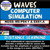 MS-PS4-1 MS-ESS1-2 NGSS Integrated 5e Waves & Astronomy PhET Simulation