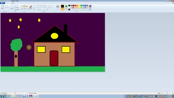MS Paint Computer Drawing Activities