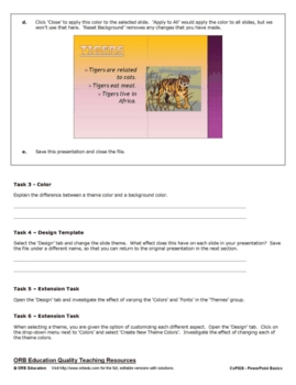 MS PowerPoint 2010 Basics - Color