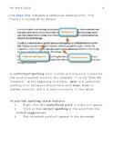 MS Word 2010 Spelling & Printing