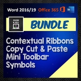 MS Word Bundle: Contextual Ribbons - Copy & Paste - Mini T