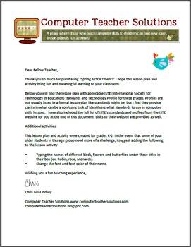 MS Word Spring Pack for Grades K-2