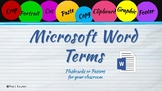 MS Word Terms and Definitions