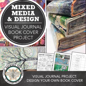 MS or HS Graphic Design Art Project: Designing Book Covers for Visual Journals