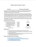 MSC: Water Bottle Rocket Physics Project