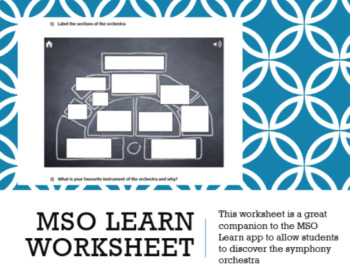 MSO Learn Companion Worksheet