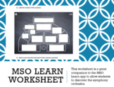 MSO Learn Companion Worksheet