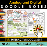 MSPS4-3 Analog and Digital Doodle Notes Plus Interactive L