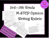 MSTEP  -  Opinion Writing  3rd through 5th grades