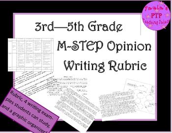 MSTEP  -  Opinion Writing  3rd through 5th grades