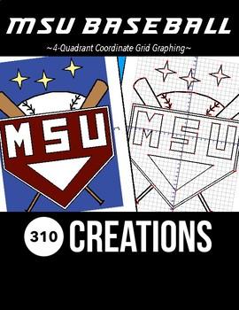 MSU Baseball Coordinate Grid Graphing