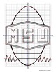 MSU Football Coordinate Grid Graphing