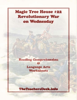 MTH22 Revolutionary War on Wednesday RC & Spelling Worksheets