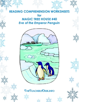 Penguin Worksheet Teaching Resources | Teachers Pay Teachers