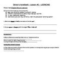 MTO Driver's Handbook - lesson one