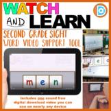MTSS Sight Word Tool | Video Resource | 2nd Grade | Men