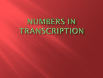 MT_8 Numbers Rulz in Transcription