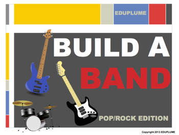 ELEMENTS OF MUSIC - BUILD A BAND LISTENING GAME