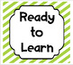 MULTI-COLORED STRIPES Behavior Clip Chart Behavior Management System {Editable}