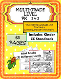 MULTI-GRADE 63 pgs Thanksgiving Language UNIT PK 1 2 Common Core St.